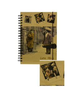 Agenda JRN-0012 Jurnal Retro Music Cute Face