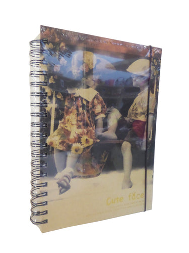 Agenda Jurnal Retro Smile Cute Face