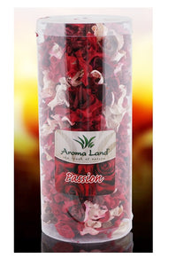 PotPourri Plante Uscate Decorative Parfumate Tub Passion 140 grame Rose Fresh Aroma