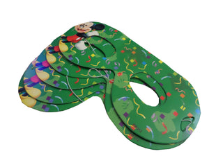 Set 6 Masti de Petrecere Aniversare Party Tematice Mickey Mouse Green