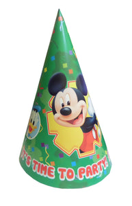Set Coifuri de Petrecere Aniversare Party Tematice Mickey Mouse Green