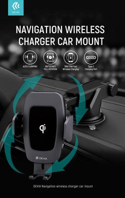 Devia Wireless Car Charger 10W - Geekd