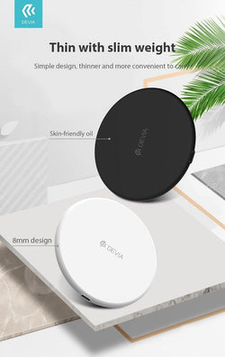 Devia Wireless Charger - Geekd