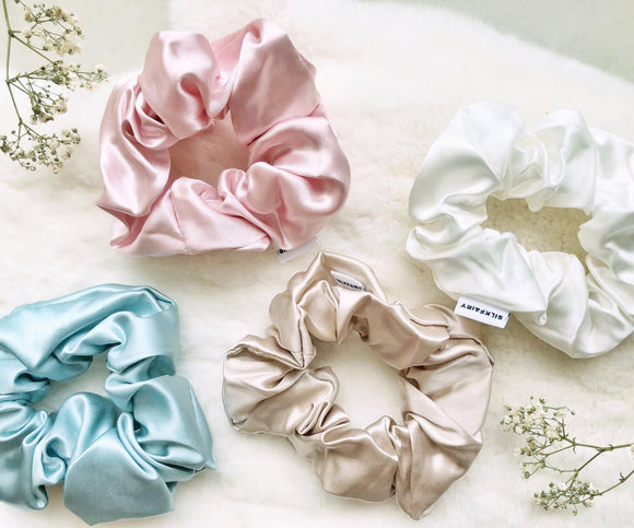 SilkFairy Silk Scrunchies