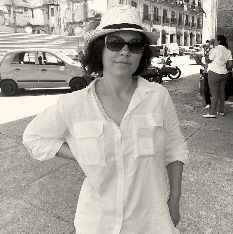 Photo of Dr. Laura Zah in Hat Smiling