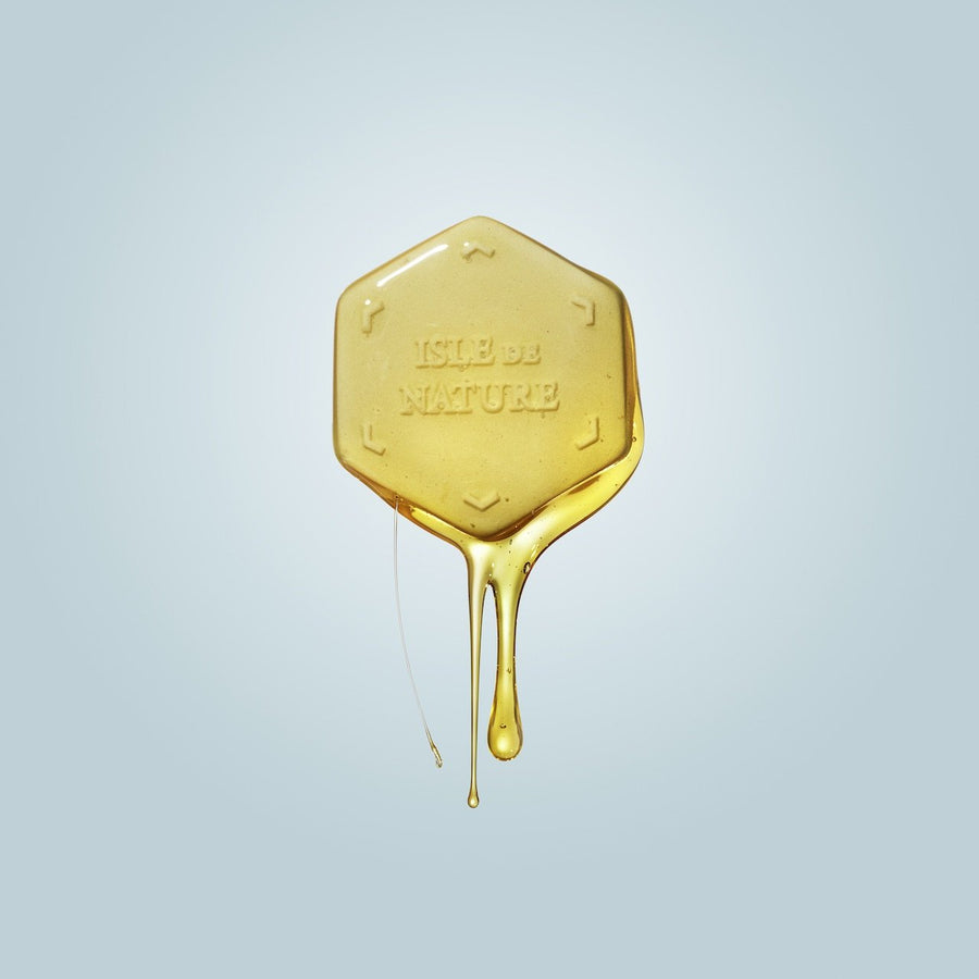 Photo of Scent Coin covered in honey