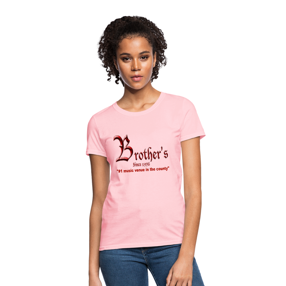 Brother's Women's T-Shirt - pink