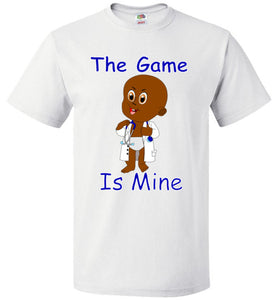 The Game Is Mine Kids Tee Shirt