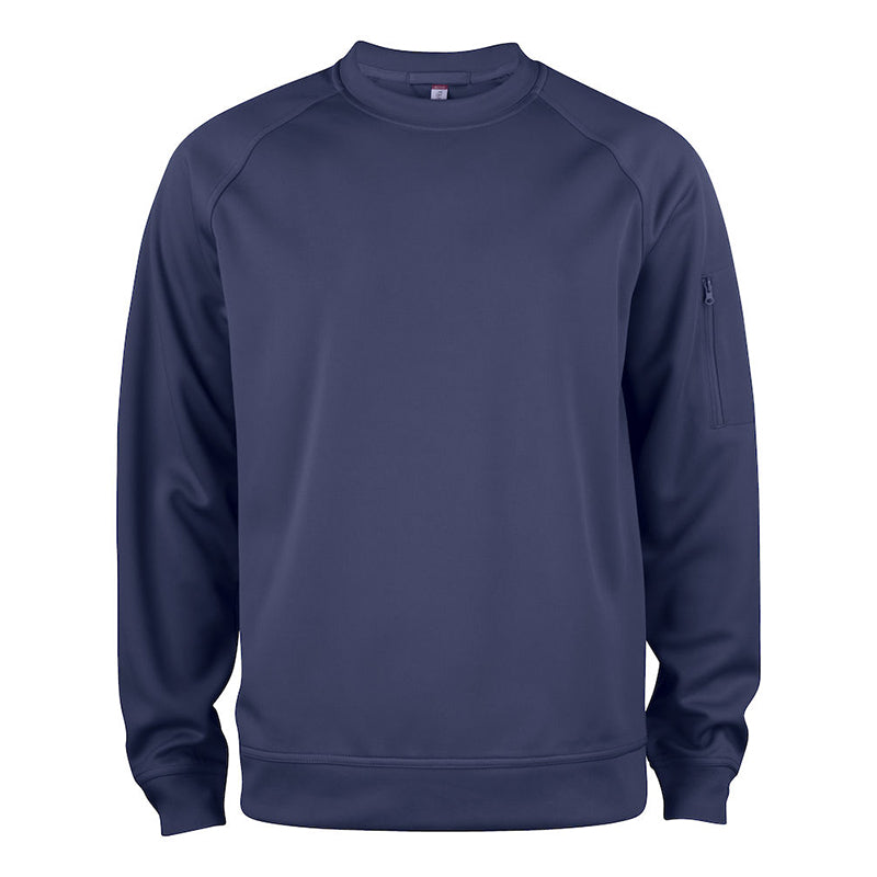 Basic Active Roundneck Mørk Navy