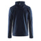 Leisure Full Zip Hood M Navy
