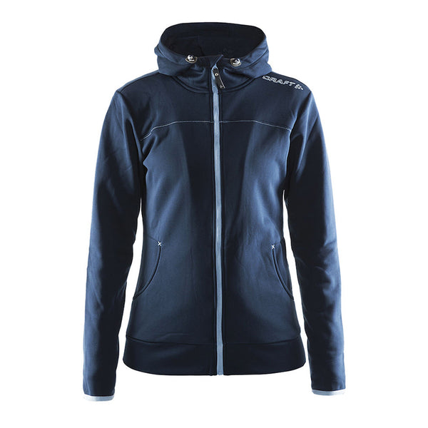 Leisure Full Zip Hood W Navy