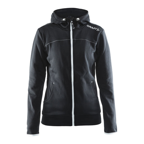 Leisure Full Zip Hood W Black