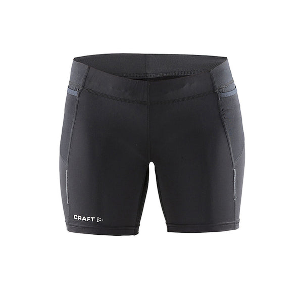 Trail short Tights W Sort