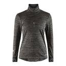 Grid Halfzip W Black