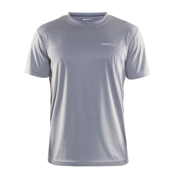 Prime Tee Men Grey Melange