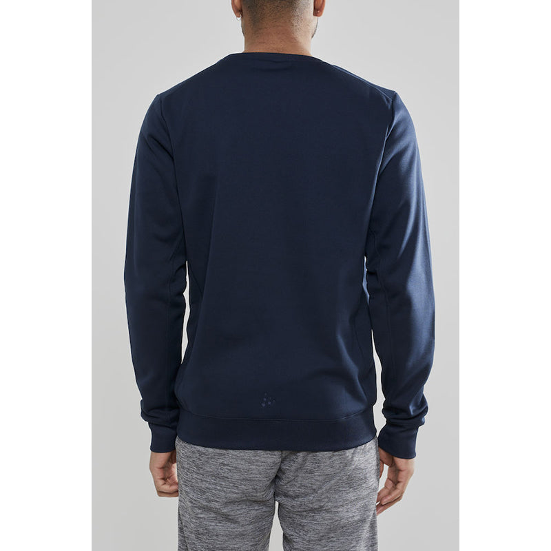 Leisure crewneck M, Navy Blue