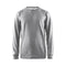 Leisure crewneck M, GREY MELANGE