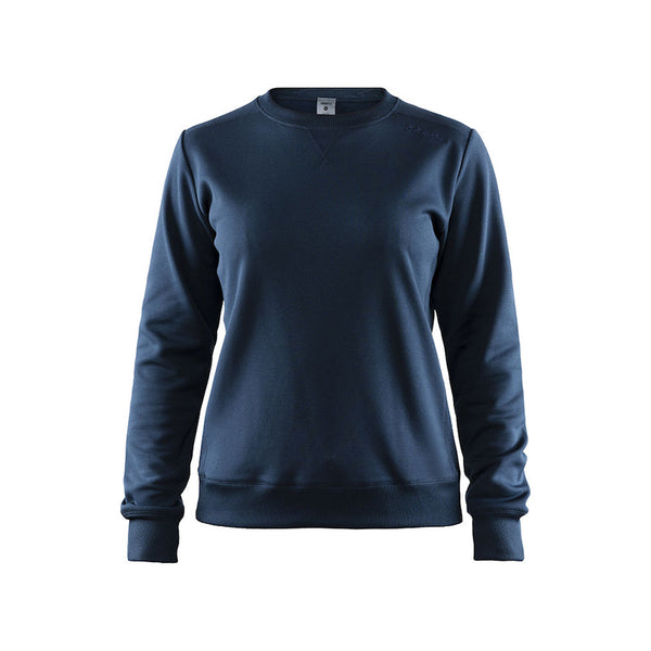 Leisure crewneck W, Navy Blue