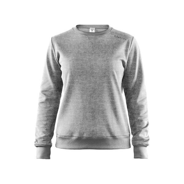 Leisure crewneck W, Grey Melange