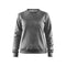 Leisure crewneck W, Dark Grey Melange