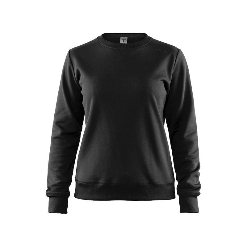 Leisure crewneck W, Black