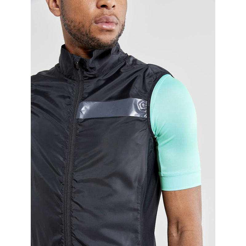 Essence Light Wind Vest M, Sort