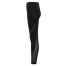 Mesh Tech Panel Leggings Full Length