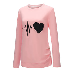 Heartbeat Long Sleeve T-Shirt