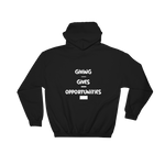 GiViNG GiVES OPPORTUNiTiES Way-Z Hoodie (Back Shown)