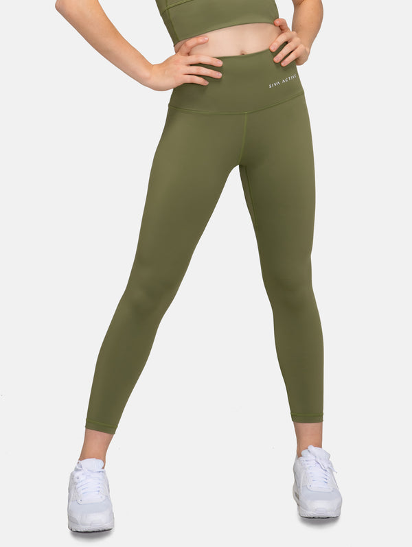 FeelZero High Waisted Legging - Cedar Green