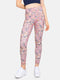FeelZero High Waisted Legging - Rose Terrazzo Print
