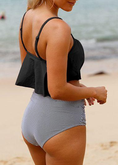 Sheinlove Seaside Gale High Waist Swimsuit