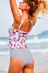 Bless Of You High Waisted Tankini Set