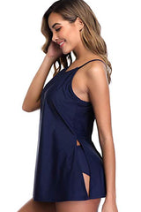 Convertible Tummy Control Tankini Set