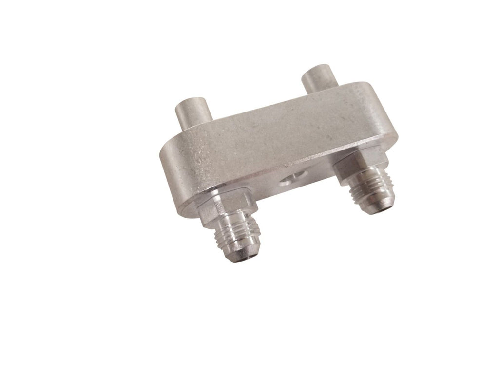 Transmission cooler manifold adapter 6L80e 6L90e 8L90e