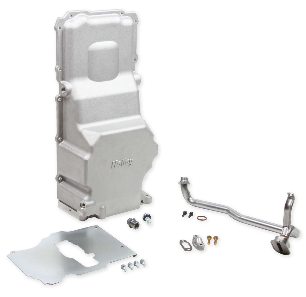 Holley 302-3 LS Swap Oil Pan - Aluminum