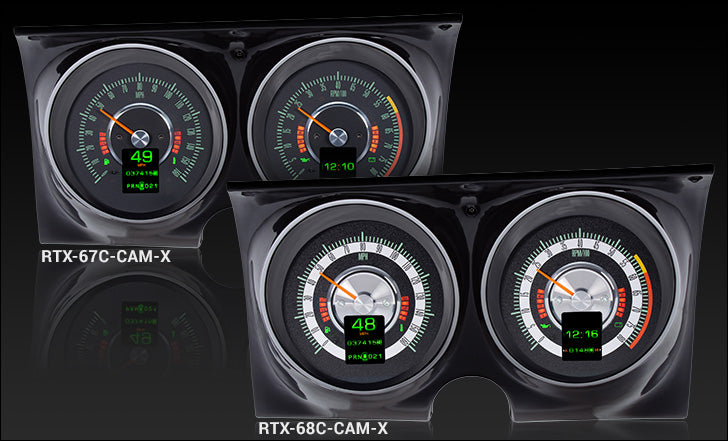 Dakota Digital RTX 1967 1968 Camaro / Firebird Gauges