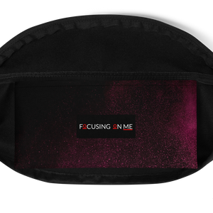 Focusing On Me Designz  - Pink & Green - Fanny Pack