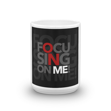 Load image into Gallery viewer, Focusing On Me Designz - Black, Red and Gray Mug