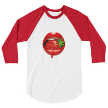 Load image into Gallery viewer, Lips - 3/4 sleeve raglan shirt