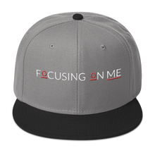 Load image into Gallery viewer, Snapback Hat - Focusing On Me Logo