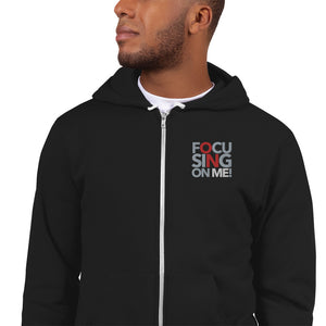 Focusing On Me Designz - Red - Zipper Hoodie