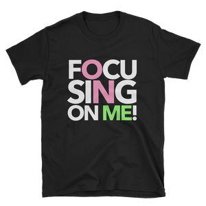 Focusing On Me Designz T-Shirt - Pink & Green