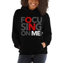 Load image into Gallery viewer, Focusing On Me Designz - Red - Unisex Hoodie