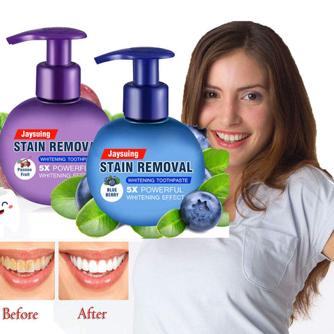 Tooth Stain Removal Baking Soda
