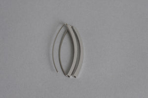 Line Silver Earrings
