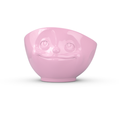 Bowl 500ml Coloured Pink 'Crazy In Love'