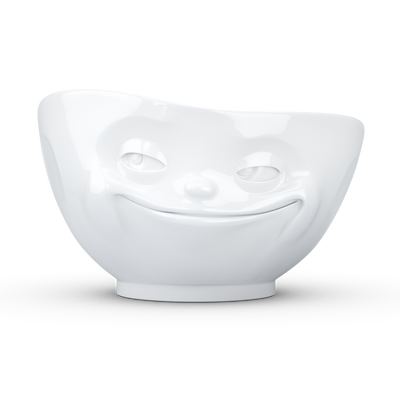 Bowl 500ml White 'Grinning'
