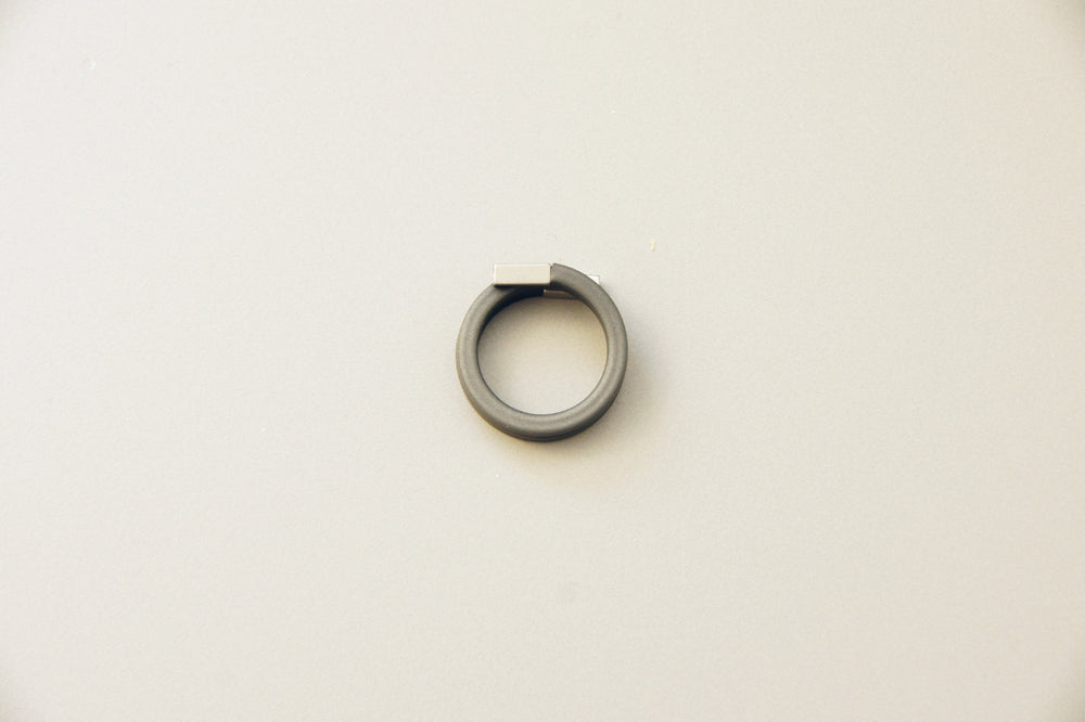 Grey Detail Rubber Ring