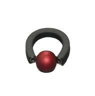 Ball Red Ring